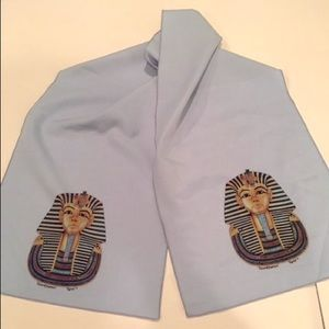 Other - Fun King Tut Egyptian Silk Scarf